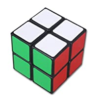 Lanlan 2x2 Black puzzle magic cube by lugii