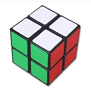 Lanlan 2x2 Black puzzle magic cube by lugii
