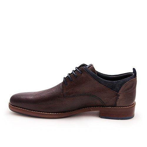 Zerimar Zapato de Piel Para Hombre Zapato Elegante Para Hombre Marron