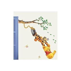 Winnie The Pooh Wall Stickers, Bedroom, Nursery, Kids Winnie The Pooh  Childrens Wall Paper Stickers Part 54