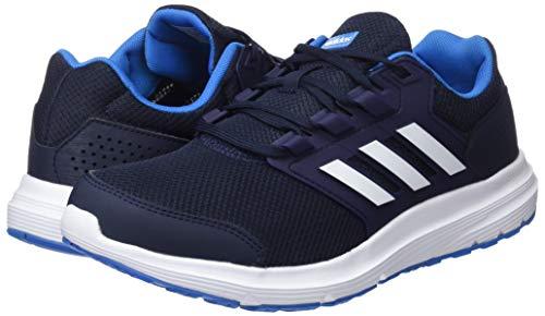 Running Zapatillas Hombre de M Bright Galaxy Blue para 0 Ink Legend adidas Negro White 4 Footwear qTHt0Xwnx
