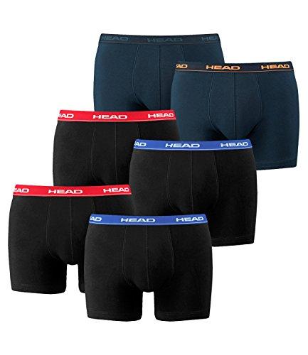 1x2er Hombre Red Peacoat blue Calzoncillos De 2 Para navy Boxer 2p Head orange Basic 2x2er Pack boxer 4qPHYqOxw