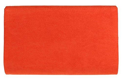Girly Handbags - Cartera de mano de Material Sintético para mujer Scarlet