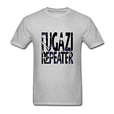 Foxgax Men's Fugazi Album Repeater 3 Songs T shirts