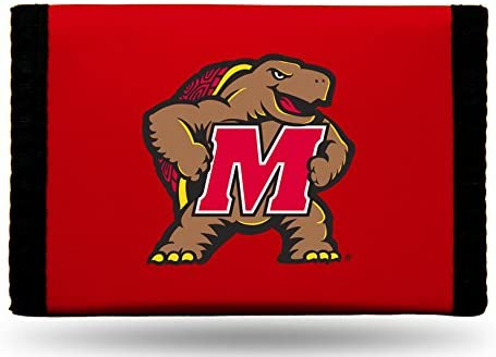 Maryland Terrapins NCAA Rico Industries Nylon Trifold Wallet