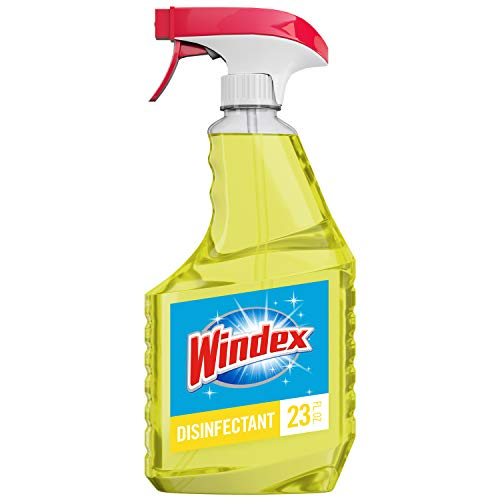Windex Multi-Surface Disinfectant Cleaner Trigger Bottle, Citrus, 23 fl oz
