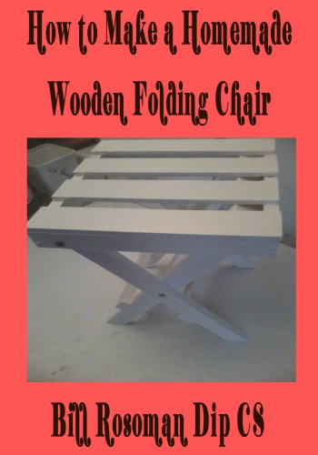 How to Make a Homemade Wooden Folding Chair