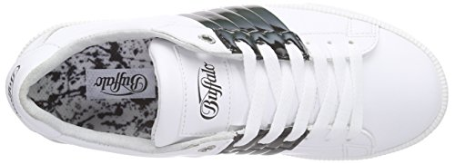 17 Scarpe White261 100 Multicolore Leather da PU Mehrfarbig Buffalo Donna Ginnastica 4v5qwIIdx