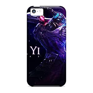For Iphone 5c Protector Cases League Of Legends Master Yi Phone Covers