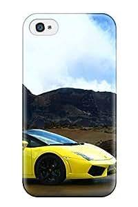9414272K22774598 Hot Tpye 2009 Lamborghini Gallardo Lp560 4 Spyder 4 Case Cover For Iphone 5/5S WANGJING JINDA