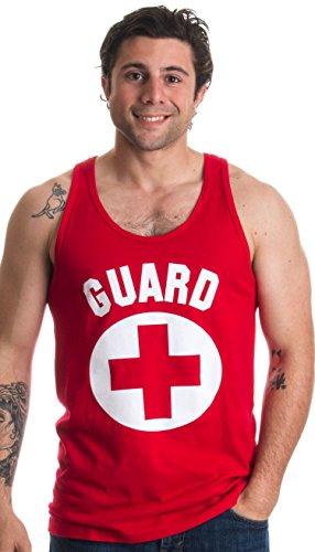 JTshirt.com-19984-GUARD | Red Professional Lifesaving Swim Rescue Unisex Tank Top-B01EKDLLY6-T Shirt Design