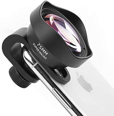 ULANZI 75 mm 10X Makroobjektiv f/ür iPhone 11 X XS Max Smartphone 17 mm Durchmesser