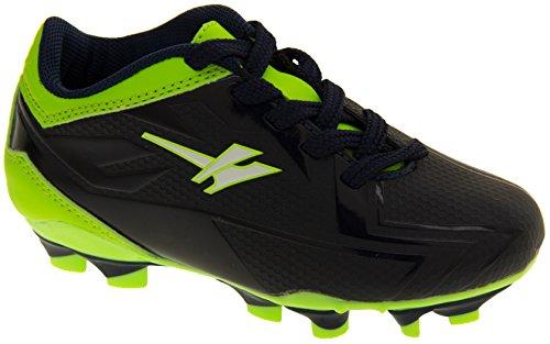 Gola Activo 5 Niños Zapatos de Fútbol de Césped Artificial Azul Marino