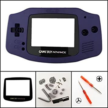 Carcasa Completa para Nintendo Gameboy Advance GBA, Color ...