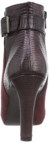 Primafila GR906 - botas de cuero mujer rojo - Rot (merlot / merlot)