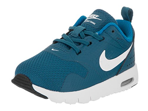 NIKE Toddlers Air Max Tavas (TDE) Industrial Blue/White Running Shoe 8 Infants US