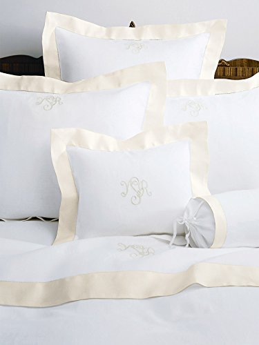 Camelot Flat Bottom Sheets, Cream (Twin, each)
