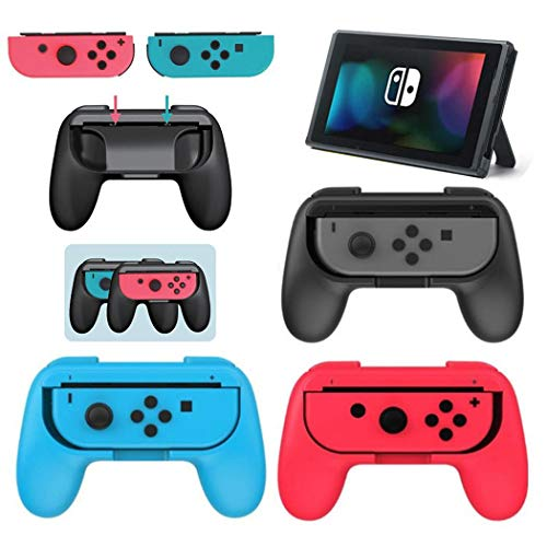 Ouyilu 2pcs Durable Gamepad Steering Wheel Bracket for SwitchJoy-Con Hand Grips
