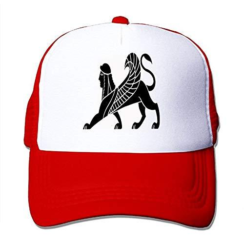 Women's Adjustable Print Anthropomorphic Human Head Lion Baseball Hat Caps Sun Hat
