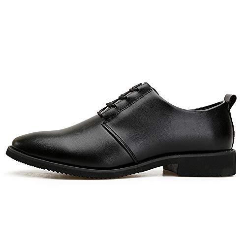 in Oxford nuove shoes e da Scarpe Scarpe da Pelle compagnia Nero Jiuyue 39 casa e uomo per 2018 traspiranti Nero camminare morbide Dimensione Uomo Color uomo vivere EU zdqCxwZX