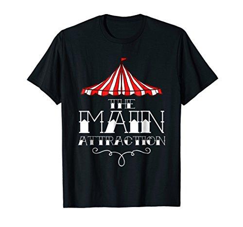 Main Attraction Circus Carnival Children Birthday -
