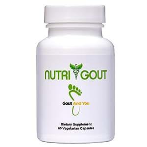 Uric Acid Lowering Formula by GoutandYou - 500 mg 60 Vegetarian Capsules