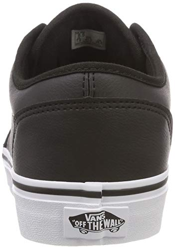 Tumble Basse white Uomo Vans Black classic Nero Scarpe Da Synthetic Ginnastica Atwood Leather U0m xvx6qSY