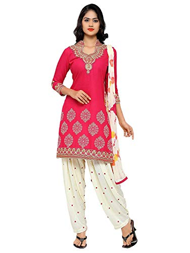 Womens Embroidered Cotton Readymade patiala Salwar for sale  Delivered anywhere in USA
