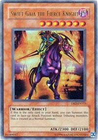 Yu-Gi-Oh! - Swift Gaia the Fierce Knight (DB2-EN111) - Dark Beginnings 2 - Unlimited Edition - Ultra Rare (Gaia Knight Fierce Swift)