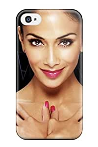 Top Quality Case Cover For Iphone 4/4s Case With Nice Nicole Scherzinger 18 Appearance