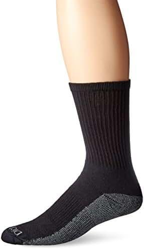 Dickies Men's 6 Pair Pack Dri-Tech Comfort Crew Socks