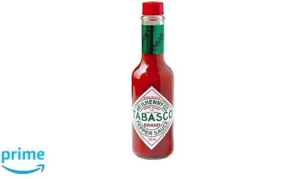 Tabasco Salsa Picante Tabasco Rojo - 150 ml: Amazon.es: Alimentación y bebidas