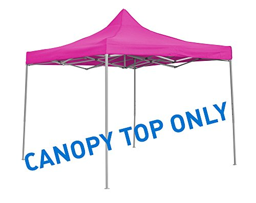 Trademark Innovations 9.6' x 9.6' Square Replacement Canopy Gazebo Top Assorted Colors ()