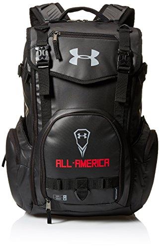 Under Armour Men's 2016 All-America Lacrosse Bag, Black/Black, One Size