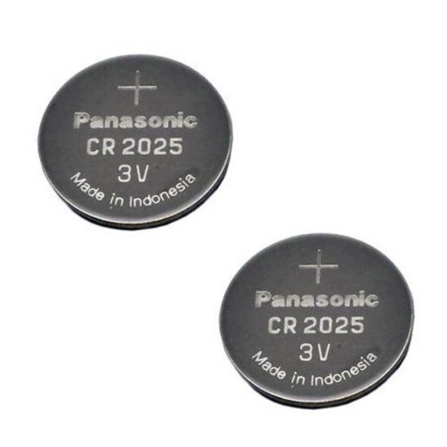 - Panasonic CR2025-2 CR2025 3V Lithium Coin Battery (Pack of 2)