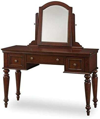 Lafayette Cherry Vanity Table Mirror by Home Styles