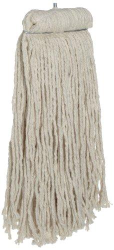 Rubbermaid Commercial Premium Bolt-On Mop, White (Mop Rubbermaid Premium Head)