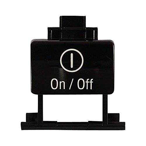 Bosch 00184590 Dishwasher Power Switch Button Genuine Original Equipment Manufacturer (OEM) Part
