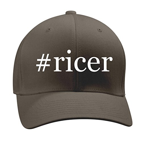 #ricer - A Nice Hashtag Men's Adult Baseball Hat Cap, Dark Grey, (Cuisipro Stainless Steel Potato Ricer)