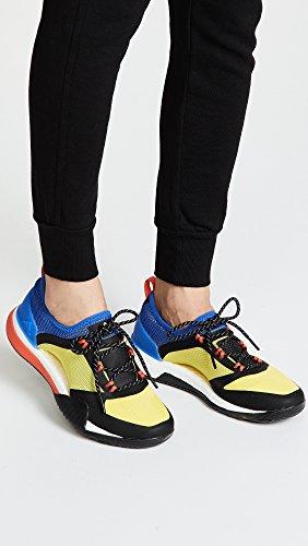 Adidas By Stella Mccartney Womens Pureboost X Tr 3.0 Sneakers Giallo / Hi-res Blu / Nero