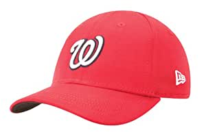 MLB Washington Nationals Kid's Tie Breaker 39Thirty Cap, Scarlet, Child/Youth