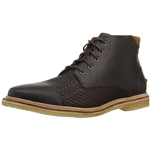 Tommy Bahama Men's Argon Blooms Chukka Boot, Brown, 14 D US