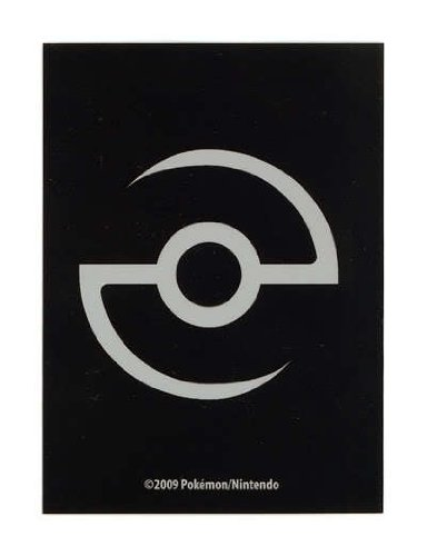 Pokemon Nintendo Card Sleeves Professor Black Pokeball Limited Edition Tournament Regular (50ct) (Sleeves Edition Card)