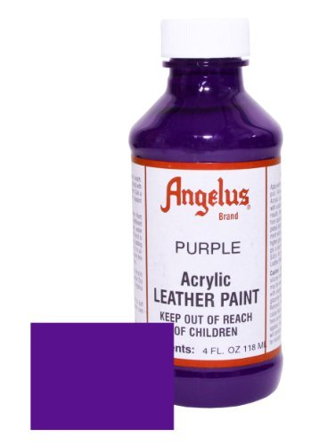 Angelus Leather Paint 4oz-Purple ()