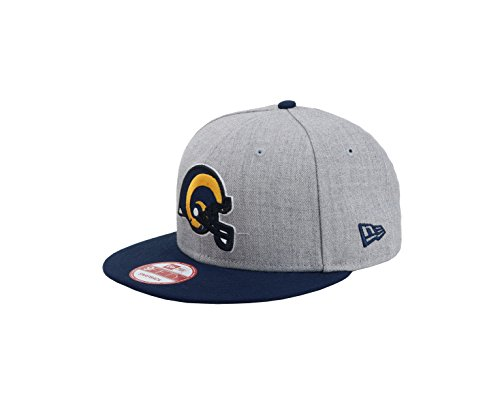 New Era 9Fifty Cap NFL Los Angeles Rams Snapback Hat - Gray Navy by New Era