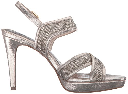Sandal Women Ansel Dress Papell Adrianna Platino IA4qwacxU5