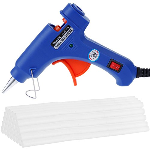 Vastar Hot Glue Gun with 30 Pieces Glue Sticks