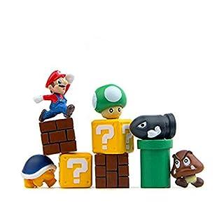 HFZXM Toy Figures 10 pc Super Mario Toy Action Figure Bundle Garden or Cake Decoration¡