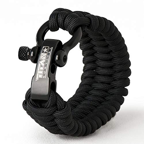 Titan Bow Shackles for Paracord Bracelets (5-Pack) | Premium Stainless Steel Metal Clasps Holds Up to 1650 lbs in an Emergency. by TITAN Survival (Image #3)