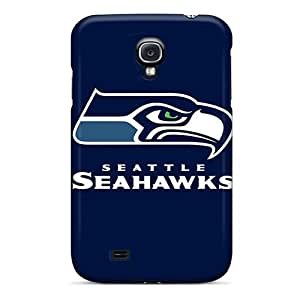 KellyLast Samsung Galaxy S4 High Quality Hard Phone Cases Support Personal Customs High Resolution Seattle Seahawks 6 Skin [pDN17713TPYQ]